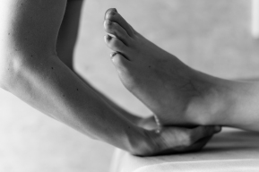 Les pieds...